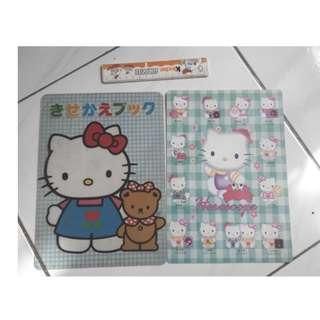 Hello Kitty 凱蒂貓  墊板  (照片中的一起賣,不分售不面交/議價/換物/平信/退換