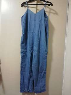 Nice & Chick - Lightweight Denim Jumpsuit