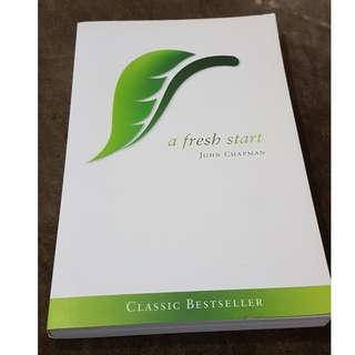 C109 BOOK - A FRESH START BY  JOHN CHAPMAN