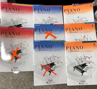 Cristofori Piano Adventures Level 1 / 2A / 2B