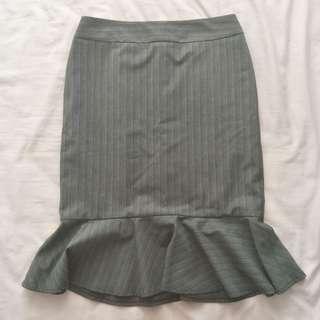 JacquiE Peplum Skirt