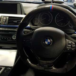 BMW Carbon steering wheel for F10