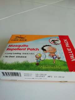 Tiger Balm mosquito patch 22s