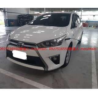 車達人-mountain- ⛰️嚴選認證中古車  15年 豐田 YARIS 1.5白專營優質中古車*二手車