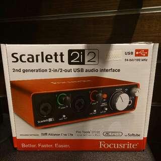 Dikredit Scarlett 2i2 cicilan tanpa kartu kredit