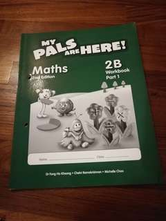 Primary 2 Workbook 2B Part 1 My Pals Are Here!