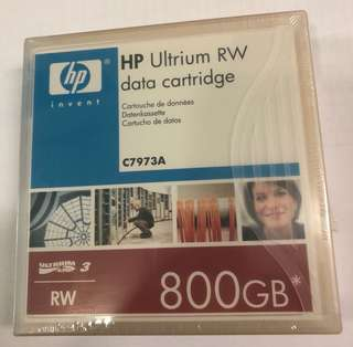 HP ULTRIUM RW DATA CARTRIDGE C7973A
