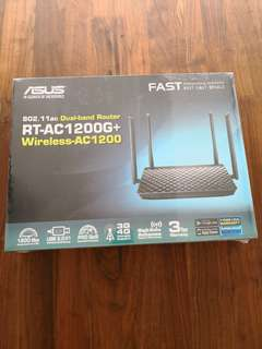 Wireless Router ASUS RT-AC1200G+