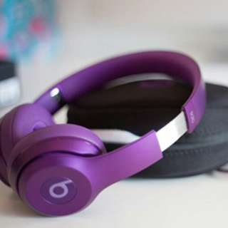 Beats Solo 2 Wired- Imperial Violet Royal Edition