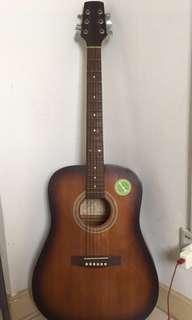 Pyramid Acoustic Guitar Model WJ 650 SB