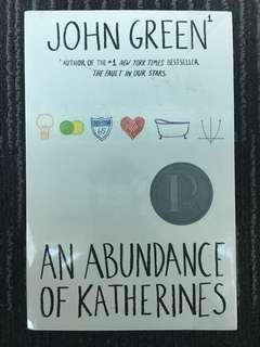 An Abundance of Katherines byJohn Green