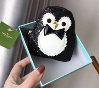 Kate Spade ♠️ Coin Card Purse Penguin