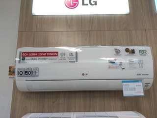 AC LG Smart Dual Inverter 1PK Promo Cicilan Tanpa Dp Tanpa Kartu Kredit