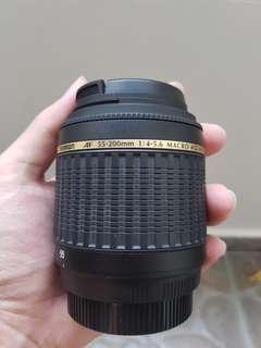Tamron 55-200mm di2 ld macro