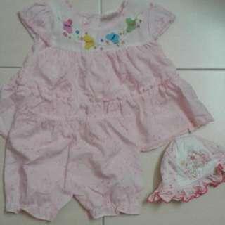 Dress Set 6 To 12 Months
