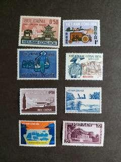 越南郵票新票 8 枚