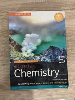 IB HL Chemistry textbook