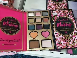 Two faced make up