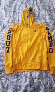 Bamboo hooded jumper