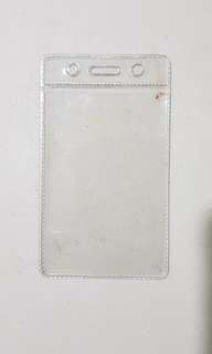 Clear Plastics Display Pockets (11x6.5cm)