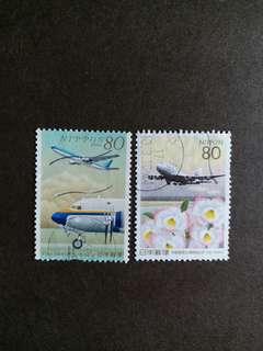 日本郵票 已銷郵票航空飛机