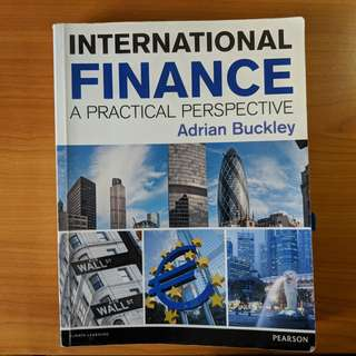 International Finance - A Practical Perspective