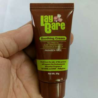 Lay Bare Soothing Cream