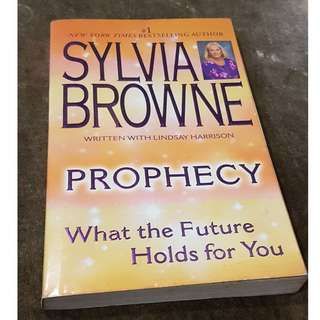 C126 BOOK - PROPHECY BY  SYLVIA BROWNE