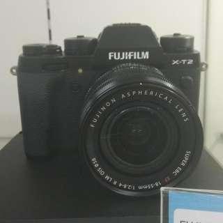 Fuji Film X-T2 18-55MM Cukup DP Cicilan Tanpa Kartu Kredit