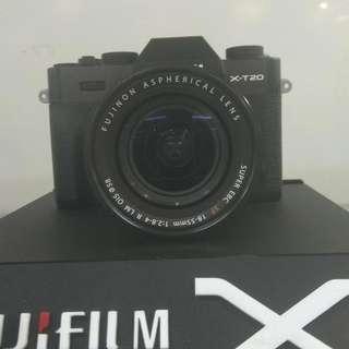 Fuji Film X-T20 18-55MM Cukup DP Cicilan Tanpa Kartu Kredit