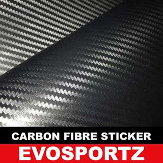Carbon Fibre Sticker