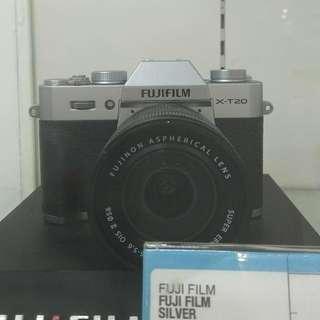 Fuji Film X-T20 16-50MM DP 0% Cukup Admin 199.000 Tanpa Kartu Kredit