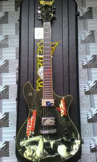 Guitar Electric Schecter Stefani Morgan Signiture