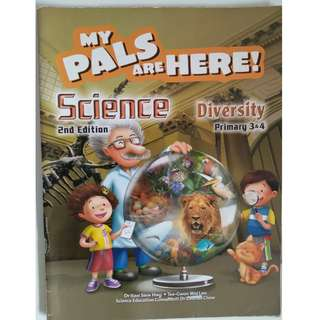 My Pals Are Here Science Textbook Diversity 3 & 4 (2nd Edition)