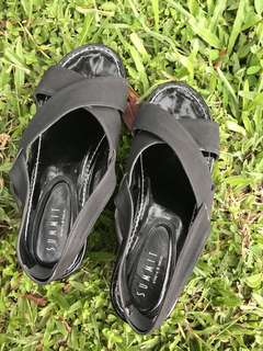 Summit black wedges