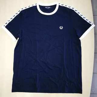 Fred Perry Men's Ringer Tapped Sportweat T-shirt