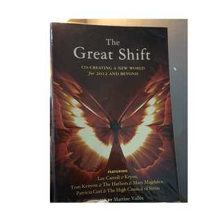 C133 BOOK - THE GREAT SHIFT BY  MARTINE VALLEE