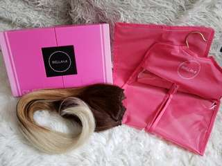 BELLAMI Ombre clip-in hair extensions
