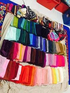 Preloved tudung shawl bawal