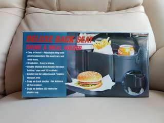 Deluxe Back Seat Drink & Meal Holder