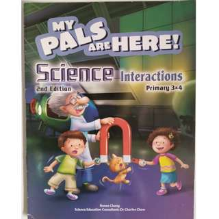 My Pals Are Here Science Textbook Interaction 3 & 4 (2nd Edition)
