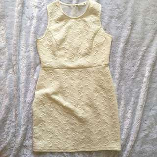 White Fit Dress
