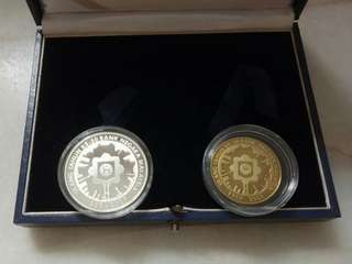Silver Proof and Nordic Gold Proof