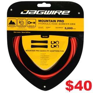 Jagwire Mountain Pro Disc Brake Hydraulic Hose 3000mm Red Colour-------- (XTR M9020 XT M8020 M8000 M785 SLX M7000 M675 M315 MT2 MT4 MT5 MT5E MT6 MT7 MT8 Trail) Dyu