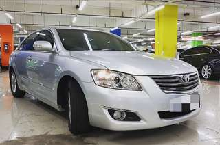 Toyota camry G tahun 2008 silver