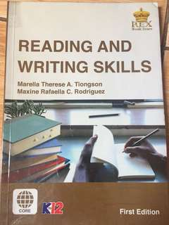 Reading and writing skills