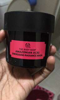 Body Shop Amazonian Acai Energising Radiance Mask