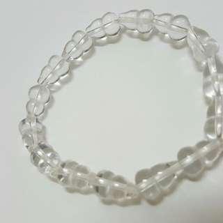 白水晶葫芦 10mm