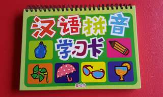 Hanyupinyin learning book