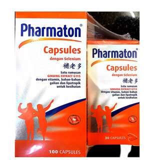 Pharmaton Capsules